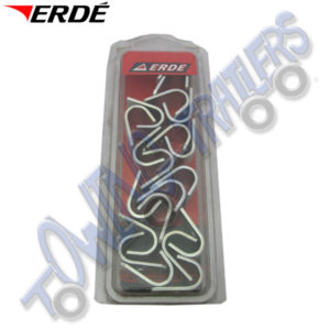 Erde Replacement Lashing Hooks for Bungee cord on Flat Covers (20 pack) 09191028