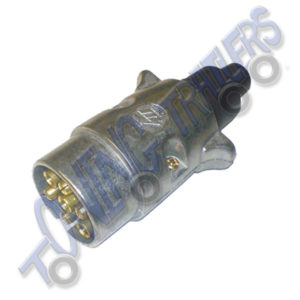 12N 7 pin Alloy Trailer Plug