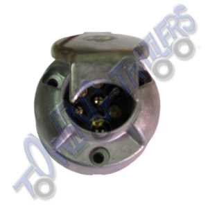 N type 7 pin Aluminium socket