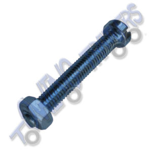 M5 x 35mm BZP Socket Mounting Bolt and Nut (Each)