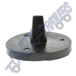 Socket Rubber Gasket N Type - 1 Flat Side for Plastic Socket