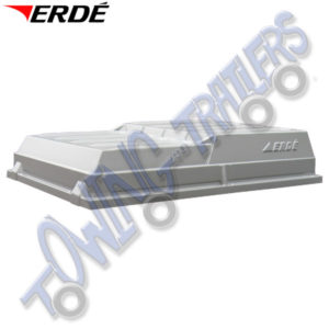 Erde ABS lockable Hard Top Cover for Erde 122 & Daxara 127 Trailers CP120