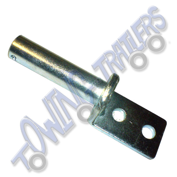 Pressed Pivot Pin : Bolt on hinge pin for pressed steel hinges towing and