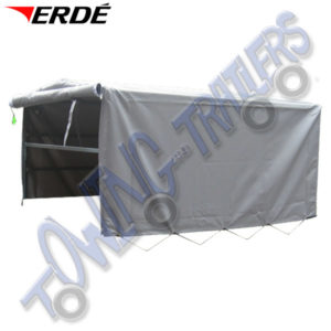 Erde Waterproof Cover for Mesh Panels on Erde 143, 153 & Daxara 148, 158 Trailers BR150