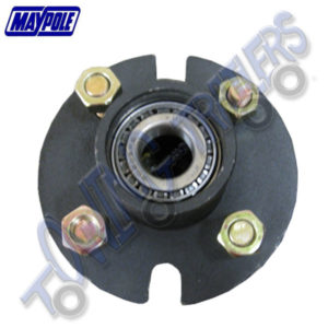 Replacement Hub and Bearings for Maypole MP712 Trailer