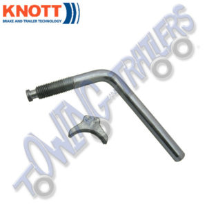 "Knott 4"" Handle & Pad to suit Knott Couplings up to 3000kg"