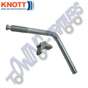 "Knott 6"" Handle and Pad to suit 3500kg Couplings"