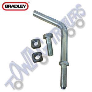 Bradley Kit 158 Replacement Handle & Pad for PD3S 48mm Jockey Wheel Cast Clamp