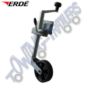 Genuine Erde 34mm Jockey wheel for Erde 102 - 143 & PM310 trailers RJ160
