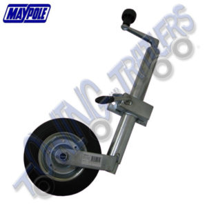 Maypole 42mm Jockey Wheel inc Pressed Steel Clamp