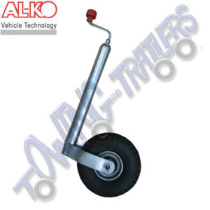 Alko 48mm Pneumatic Caravan Jockey Wheel