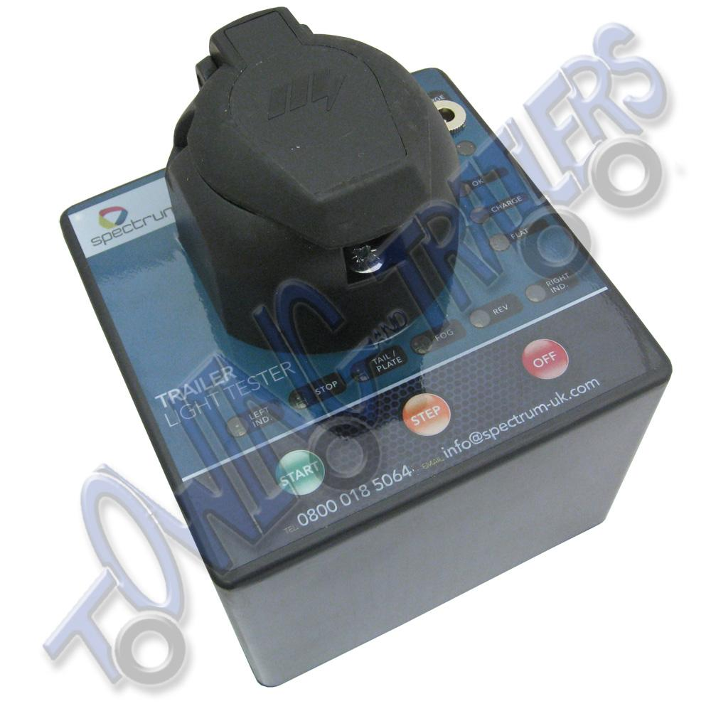 Spectrum Portable Trailer Light Testing Unit - Towing and Trailers Ltd