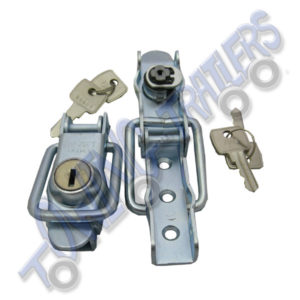 Erde Replacement Locks for ABS Hard Covers (pair)