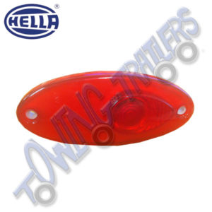 Hella Oval Red Rear Marker Light MP8862