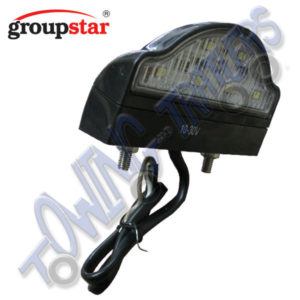 Groupstar Multivolt LED NumberPlate Light MP8227B