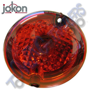 Jokon 94.4mm Circular Stop Tail Light Caravan Motorhome
