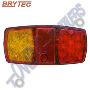 Brytec EL206 12v LED Lefthand 3 Function Rear Light