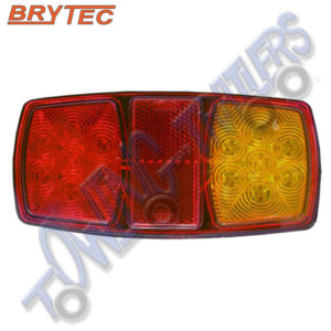 Brytec EL206 12v LED Righthand 3 Function Rear Light