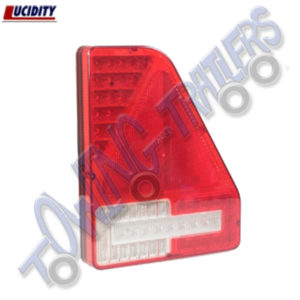 Lucidity Lefthand Triangular LED Rear Light with Fog & Reverse 8658BL