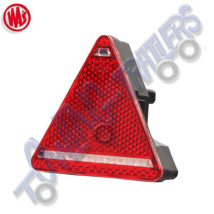 WAS W68P Multivolt LED 5 Function Triangular Rear Light (Fog)