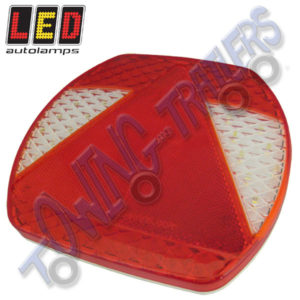 LED Autolamps Multivolt Lefthand Eurolamp EU195 Rear Light (Single)
