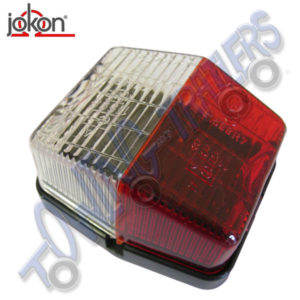 Jokon SPL115 Red/White Outline Marker Light