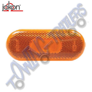 Jokon Slim Oval Amber Side Marker Light SMLR2000
