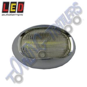 LED Autolamps Multivolt Marine Navigational Lamp Stern (chrome bezel) 52CW