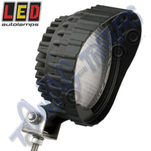 LED Autolamps 12v Round LED Work Lamp 6x1w 7450B12