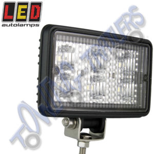LED Autolamps MultiVolt Rectangular LED Flood Lamp 6x1w 7451BM