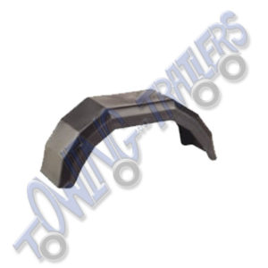 "Plastic Mudguard to suit 8"" Wheel 490 x 140mm (Single)"