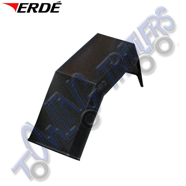 Erde 142 & 152 Black Genuine Mudguard (Single)