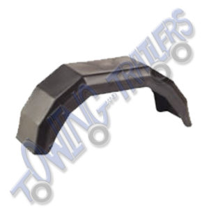 "Plastic Mudguard to suit 10"" Wheel 620 x 180mm (Single)"
