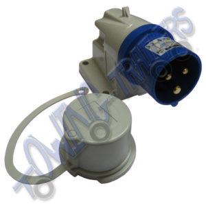 240v 16A Caravan inlet socket
