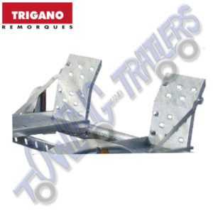 Trigano Quad Bike Loading Ramps (2 pack) for Multy Chassis Trailer R800183