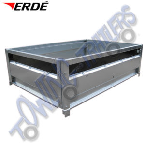 Erde Raised side panels for Erde 163 - Daxara 168 Trailers