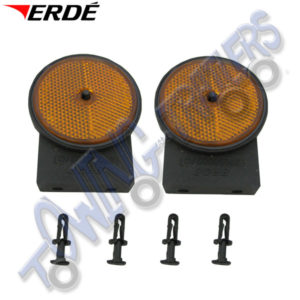 Erde Amber Side Reflectors for PM310, CH451 & CH751 (pair) 09191086