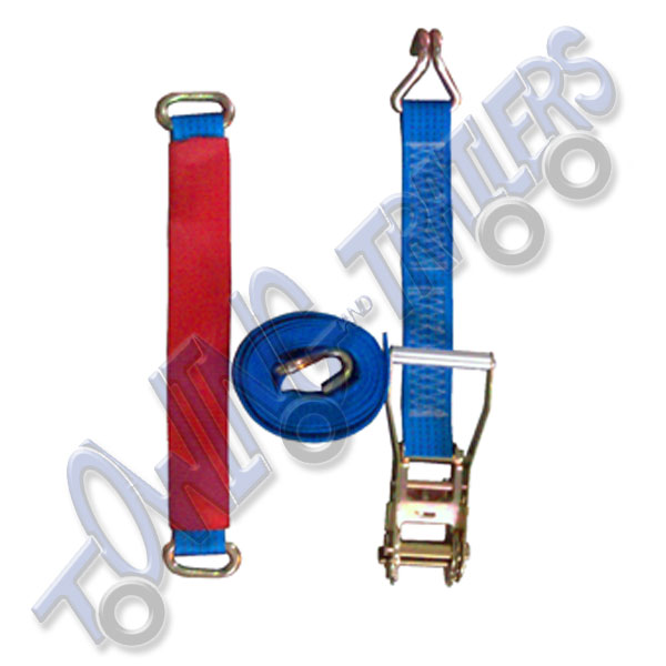 3.2m ratchet strap with wheel link