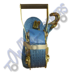 Approved Rachet Strap Assembly 50mm x 4m  5000kg