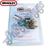 Bradley Doublelock Lockit 1-2 hitch lock