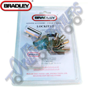 Bradley Doublelock Coupling lock Lockit 1-2