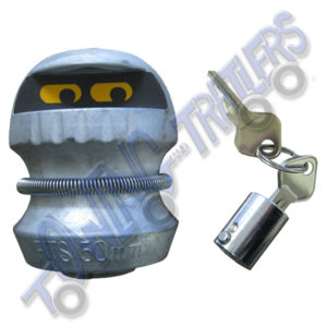 Trailercop trailer coupling lock