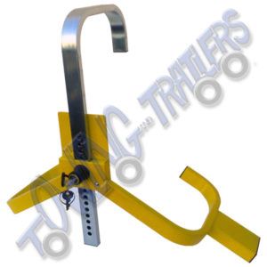 "Milenco 8"" to 10"" lightweight wheel clamp"