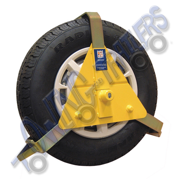 "Stronghold Insurance Approved 10"" - 14"" Wheel Clamp"