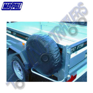"Maypole Trailer Spare Wheel Cover 8"" MP94708"