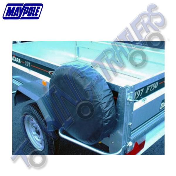 """Maypole Trailer Spare Wheel Cover 10"""" MP94710"""