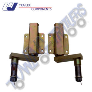 "Pair 250kg Watson Jones Suspension Units 1"" Shaft for Taper Roller Bearings"