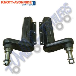 "Pair of 350kg Avonride Suspension Units 7/8"" Shaft to suit Mini Hubs"