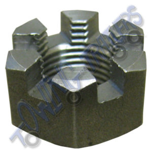 "Castle Hub Nut for Unbraked Avonride suspension 5/8"" UNF M15x24mm"