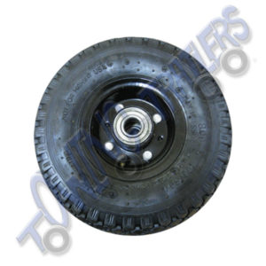 250x75mm Replacement Pnuematic Metal Wheel with Bearings